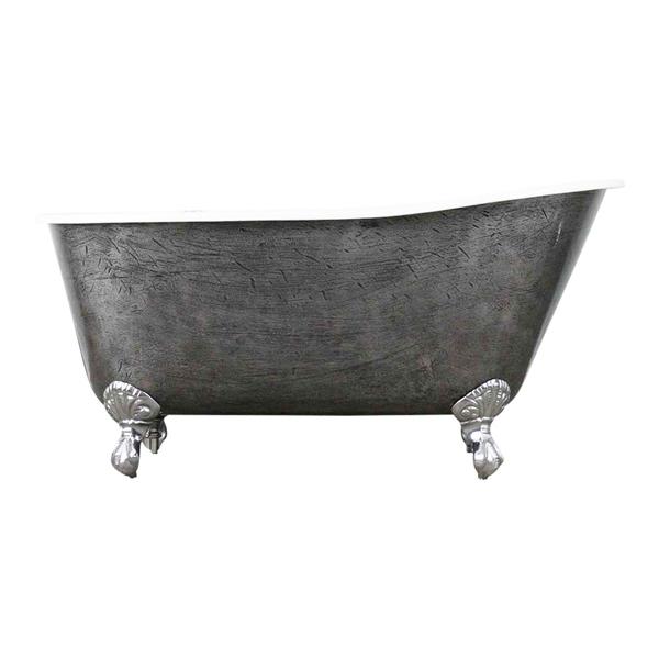 39 the easby 39 57 cast iron swedish slipper clawfoot tub. Black Bedroom Furniture Sets. Home Design Ideas
