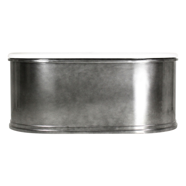 The Knightsbridge73 73 Quot Cast Iron Double Ended Metal