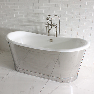 Exclusive Cast Iron Tubs, Clawfoot and Skirted Bathtubs: Penhaglion