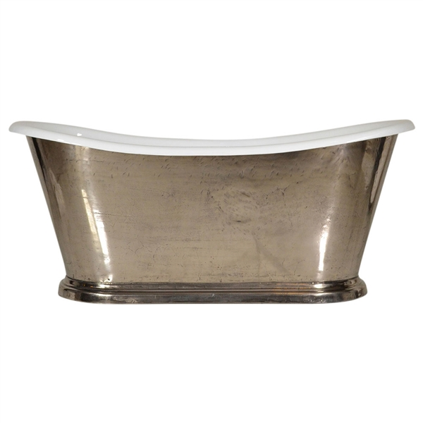 The Parisnickel67 67 Quot Cast Iron French Bateau Tub With